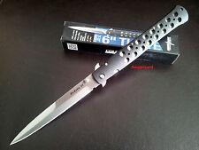 "Cold Steel Stiletto 26SXP Ti-Lite 6"" (Large) Zy-Ex™ Handle Folding Pocket Knife"