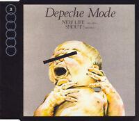 CD SINGLE DEPECHE MODE NEW LIFE REMIXES + INEDIT COLLECTOR EXCELLENT ETAT 1991