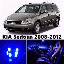 13pcs LED Blue Light Interior Package Kit for KIA Sedona 2008-2012