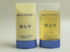 Bvlgari Blv Aftershave Balm 2.5 oz & Shampoo And Shower Gel NEW