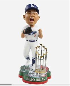 Julio Urias - Los Angeles Dodgers World Series Sugar Skull Bobblehead