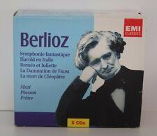 CLASSIQUE - Berlioz - COFFRET 5 CD SYMPHONIE FANTASTIQUE... - EMI Classics