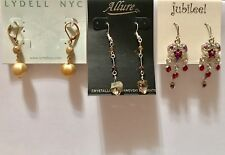 NWT Earring Lot Department Store $40+ RV Free Gift With Purchase Macy's