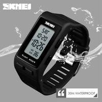 SKMEI Sports Women Watches Waterproof Men Trendy LED Digital Wristwatch 1362 62