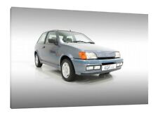 Ford Fiesta XR2i - 30x20 Inch Canvas Art Work - Framed Picture Print