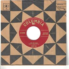 JOHNNY BOND 45  Old Man Blues / Fire Water - NM