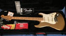 2014 FSR Fender American Standard Stratocaster Mystic Aztec Gold W/Upgrades +