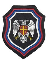 BALCAN WAR ERA - SERB PARAMILITARY FORCES - SLEEVE PATCH 2 (RUBBER TYPE)