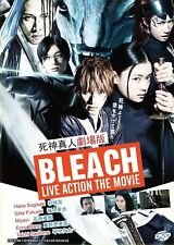 Bleach Live Action Japanese Movie DVD with English Subtitle