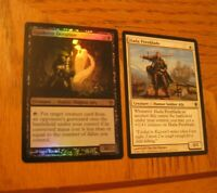 1x Foil Agadeem Occultist and 1x Hada Freeblade, LP, Ally Tribal, Worldwake EDH