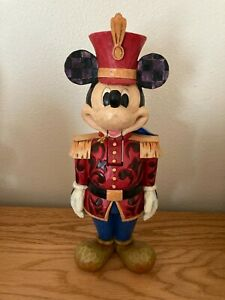 Jim Shore Disney Traditions Salutations Mickey Mouse Nutcracker 4027918
