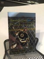 1999-00 OPC Chrome UNCUT TOP PROOF Post Masters Byron Dafoe Boston Bruins