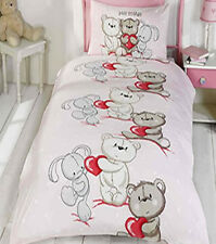 Childrens Single Duvet Cover and Pillowcase - Girls and Boys Bedding