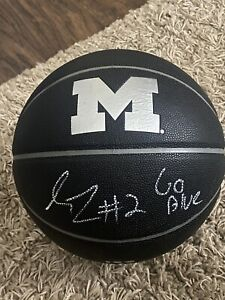 Isaiah Livers Autographed Michigan Wolverines Basketball Signed UofM Go Blue