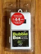 Aerator Pump Bubble Box portable Air for Live Bait Bucket 8 Gallon for Fishing