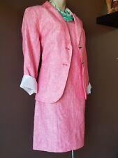 Talbots two piece pink dress suit, Sz 10 petite