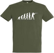 "T-Shirt ""Jagd Evolution"" S bis 5XL ; Jäger, Hunt, Hunter, Förster, Schützenfest"