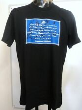 NEW ZEALAND ALL BLACKS BLACK/BLUE GRAPHIC TEE BY ADIDAS SIZE SMALL BRAND NEW