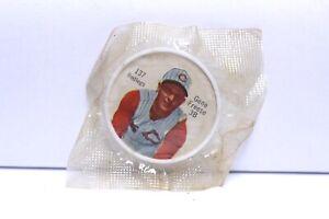 1962 SALADA TEA BASEBALL COIN #137 GENE FREESE CINCINNATI REDLEGS SEALED PACK