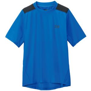 Sale Daiwa DE-6107 T Shirt Short Sleeve Quick Dry Blue Size L 110648