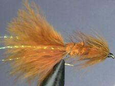 1 dozen (12) - Woolly Bugger - BROWN