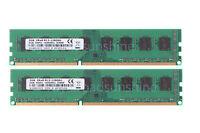 New 4GB 4G(2X 2GB) DDR3 1600MHz 2RX8 PC3-12800U DIMM RAM intel Desktop memory