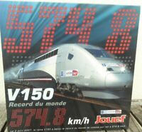 Jouef HJ 2058 TRIEBZUG TGV V150 WELTREKORDZUG der SNCF Epoche 5/6 mit DSS+ LED