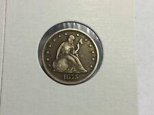 1875 Seated Liberty Twenty Cent Piece in very good
