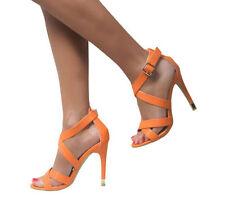 Zapatos de tacón de mujer de color principal blanco sintético talla 40
