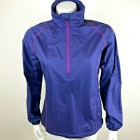 Peter Millar Womens 1/2 Zip Pullover Wind Jacket Lightweight Windbreaker Small