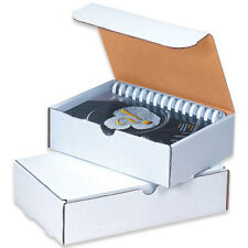 50 10 X 10 X 2 White Corrugated Shipping Mailer Literature Box Packing Boxes
