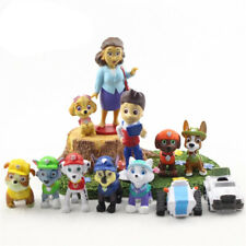 kids game toy 3-5 old 12pcs pup patrol action figure everest tracker cake topper