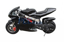 Pocket Bike Kids 49Cc 2 Stroke Mini Bike Gas Motor Superbike Black U Db49B