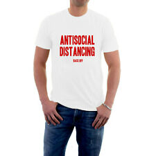 Antisocial Distancing T-shirt BACK OFF / SOD OFF / BUGGER OFF Social Distancing