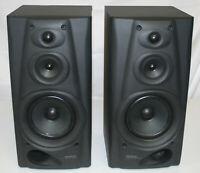 "Kenwood 3 Way 3 Speaker System LS-E5 L R 18"" Speakers TESTED"