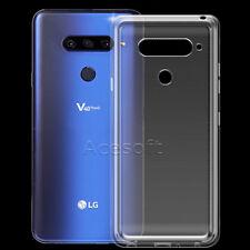 Ultra Thin Clear Soft Gel Tpu Case Cover Skin for Verizon Lg V40 ThinQ CellPhone