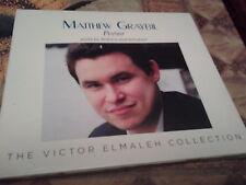 cd matthew graybil pianist brahms schubert the victor elmaleh collection new