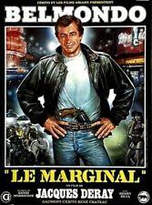 Jean-Paul Belmondo LE MARGINAL Jacques Deray  affiche cinema