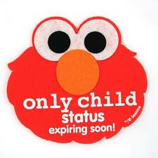 "NEW Elmo ""Only Child Status Expiring Soon"" sticker FREE SHIPPING M01-06"