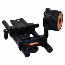 Opteka FF-240 Compact DSLR Gearless Follow Focus Rig with 15mm Rails [Camera]