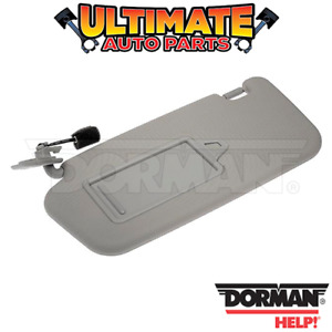 Left Side - Sun Visor (Gray) for 2007 Hyundai Accent (From 3/2007 Build Date)