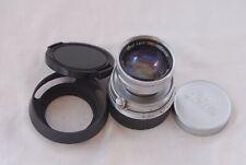 Leica 50mm f/2.0 M Summicron Collapsible Lens #1235448 Digital M240