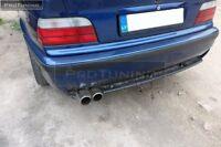 Diffuser for BMW E36 SE rear bumper lower spoiler lip M look M3 tuning difuser