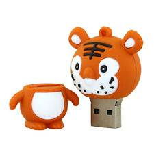 16 Gb Tiger Animal Shaped Novelty USB Flash Drives Cool Memory Sticks