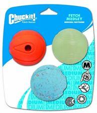 Chuckit fetch Medley 3 Pack De Pelotas De Tenis Talla Para Lanzador