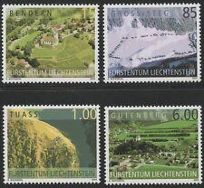 2004 LIECHTENSTEIN N°1289/92  SERIE NEUVE LUXE  COMPLETE SET MNH