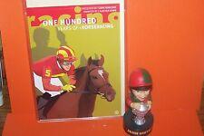 ONE HUNDRED YEARS OF HORSERACING DVD/CARD PLUS JOHN SMITH NOVELTY SPEAKER BOXED