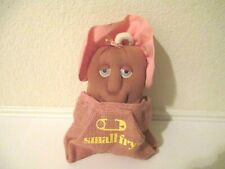 Vintage 1987 Small Fry Couch Potato Baby Girl Plush Doll w Sack Coleco Original