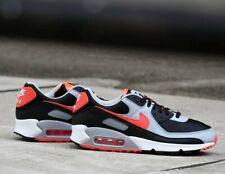 Nike Air Max 90 Hombre Negro Rojo Gris Blanco Zapatillas Zapatos entrenador todos los tamaños