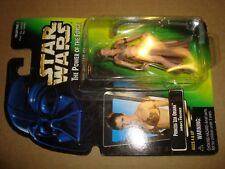 STAR WARS THE POWER OF THE FORCE PRINCESS LEIA ORGANA AS JABBA'S PRISONER KENNER